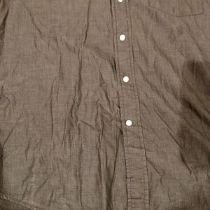 Tommy Hilfiger Shirts - Tommy Hilfiger Men's Gray Black Shirt Size Large
